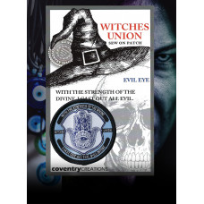 Witches Union Evil Eye Patch