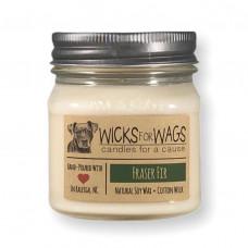 Wicks for Wags Fraiser Fir candle