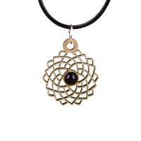 Crown Chakra Magic Wood Jewelry and Sticker