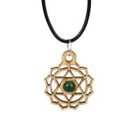 Heart Chakra Magic Wood Jewelry and Sticker