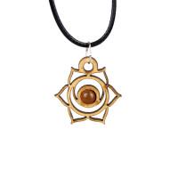 Sacral Chakra Magic Wood Jewelry and Sticker