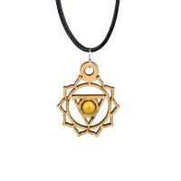 Solar Plexus Chakra Magic Wood Jewelry and Sticker