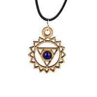 Third Eye Chakra Magic Wood Jewelry and Sticker