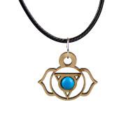Throat Chakra Magic Wood Jewelry and Sticker