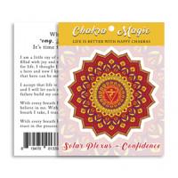 Chakra Magic Confidence Sticker