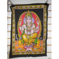 Aura Ganesha Tapestry