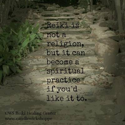 Morning Coffee with Reiki: Reiki is not a religion.