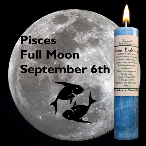 Candle Wick Shoppe - Candle Wick Shoppe Blog - Full moon in Pisces