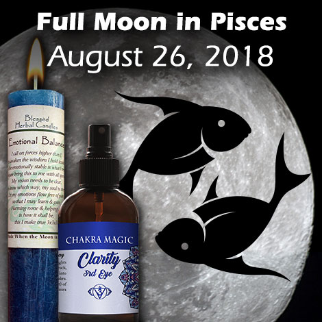 Full Moon in Pisces August 262018